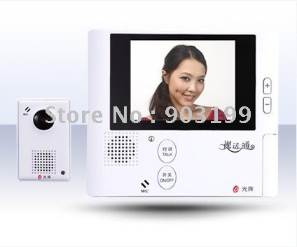 "2.8"" wireless color peephone/video door phone /video doorphone/intercom system(China (Mainland))"