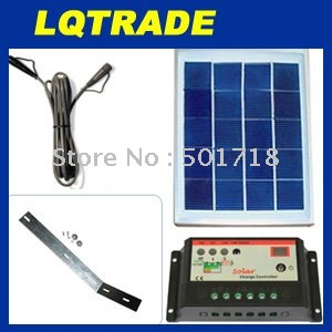 Solar Panel Power Kit 5 Watt 12 Volt Polycrystalline(China (Mainland))