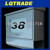 Light control Solar Postbox/ solar stainless postbox / solar mailbox