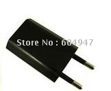 Wall EU Charger+USB 2.0 Cable For iPod iPhone 4G 3G 3GS ipad1 ipad2 black