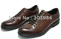Wholesale 2011 new! hot! brand newest men's first layer leather dress shoes wedding shoes party shoes europe size :38 to 44