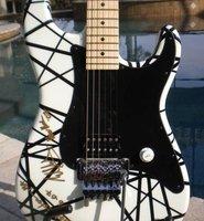 Charvel EVH Art Series Eddie Van Halen Electric Guitar - White Free shipping