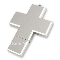 Free Shipping Fashion Cross Plastic USB Flash Pen Drive 1GB 2GB 4GB 8GB 16GB 32GB 64GB Fashion USB 2.0 Flash Pen Drive