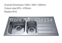 Kitchen Sink  Stainless Steel Sink 7806F Factory Supply