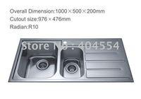 Kitchen Sink  Stainless Steel Sink 7806F Factory Supply