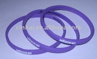 cheapest Printing Silicone Straps promotional gift in high quality