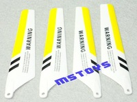 Yellow Main blades for S107 S107G RC helicopter spares part Accessory  from origin factory wholesale