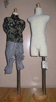 boy body Supper dollfie BJD model form SD17 boy dress form SD17 bust stand BJD dress display hanger