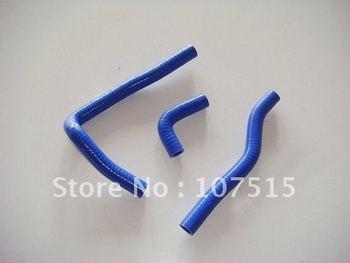 KAWASAKI KX65 KX 65 00-09 motorcycle Silicone Radiator Hose Kit blue