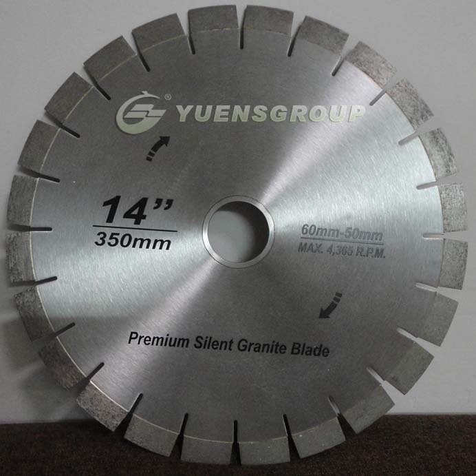 YSTC-SPDB Silent Professional Diamond Blade,Diamond Cutting Tools,Stone Cutter,Granite,Marble Tools(China (Mainland))