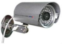 wholesale price 1/4' Sharp 420TVL Waterproof CCD Color CCTV Camera With 36 (0.5) LED IR illuminators Freeshipping