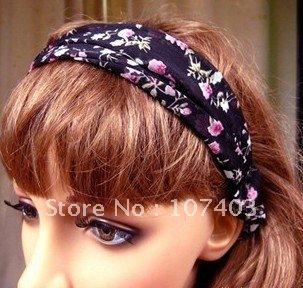 Free shipping wholesale headband, fabric headband for girls dressing up,12pcs/bag