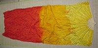20pcs/lot 3 colors dance fan veil belly dance fan veil chiffon fan veil