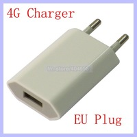 EU Plug USB Wall Charger for Apple iPhone 4 4G 4S