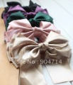 Korea large multi-layer ribbon bows top clip/hair accessories larger size 14cm/10color