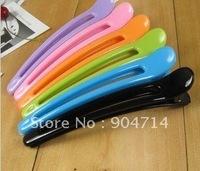 Acrylic plastic duckbill clip alligator clip wholesale candy color hair clip/6 color