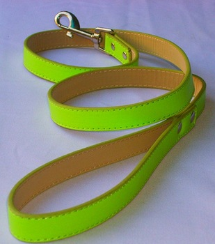 Candycolour dog puppy pet leash lead pu S M L 6colours