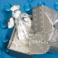 Free shipping to Australia etc 24/lot wedding gifts of Choice Crystal Angel Favors, Kate Aspen  favor