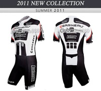Free Shipping!! MEN'S CYCLING SKINSUIT 2011 BMC-BLACK-SIZE:S-3XL