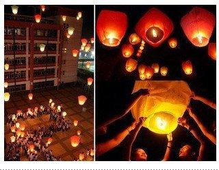 10 pcs Sky Lanterns, Wishing Lamp SKY CHINESE LANTERNS BIRTHDAY WEDDING PARTY