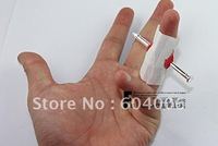 2011 New 50pcs/lot April Fool's Day the whole person must  funny toys Nail through finger free shipping
