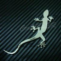 Car sticker (Gecko) 3d sticker,3M sticker/glue,chrome/electroplate for all the car for Audio