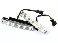 Hot sale Aluminium housing ,12V/10W Auto 5LED LED Daytime Running lamp, LED Daytime Running light 2pcs/lot+Fulfillment shipping