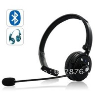 Freeshipping Over-the-head Bluetooth Headset with Boom Mic (18 hours talk time)