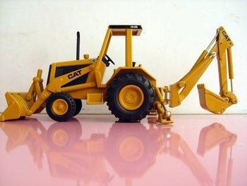 NORSCOT 55271 1:50 Cat 416 Backhoe Loader toy
