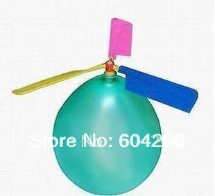 Free Shipping 50pcs/lot new rc helicopter balloon flying balloon toy wholesale