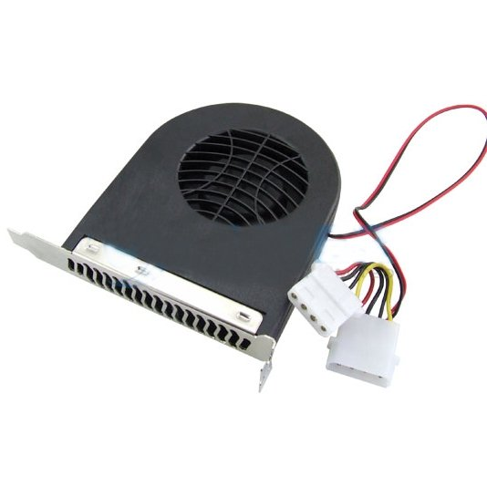 Wholesale Free Shipping 10 Pieces/lot New System Blower CPU Case PCI Slot Fan Cooler For PC(China (Mainland))