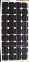 Factory Supply 90monocrystalline solar panel /solar module for 12v battery