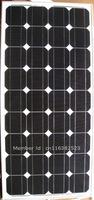 Factory Supply 90monocrystalline solar panel /solar module for 12v battery