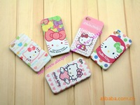 New design hello kitty Silicone Case for iPhone4 4G retail packaging wholesale price 100pcs/lot+Free shipping