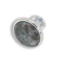 sales!cabinet knob granite handle stone knob 12 chrome blue pearl