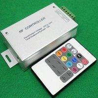 10pcs (DHL Ship) RF Remote controller LED 20-key controller to RGB LED Strips RF 20-key remote controller