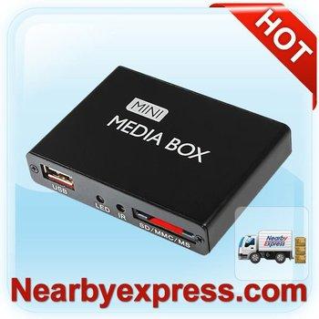 Mini Media Player PDM05H support HDMI AV SD/MC/MMS