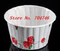 900pcs medium Cupcakes round muffin paper cake cup cake case with Strawberry,  5cm*3.9cm*6.5cm