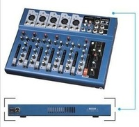 New Small Pro power mixer 7 Channel Mixer with Y A MA HA F4 mixer console DJ Minxer power mixer For stage Cinema KTV...