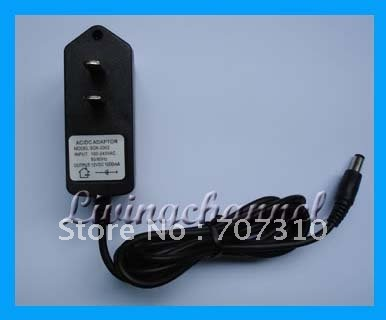 FREE DHL shipping US DC 8V 500mA Power Supply Adaptor Adapter 100-240 AC 5.5*2.1 CCTV(China (Mainland))