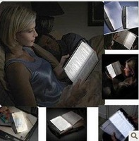 Hot sale  LED Night Panel Book, LED Reading Light ,Book light 10pcs/lot+Fulfillment shipping