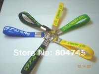 Custom Design Silicon Key Holder, Silicon Keychain, Debossed Logo + Colour Filled in, Promotion Gift, 100PCS/Lot