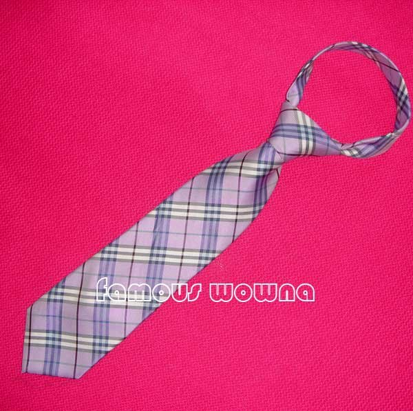 100% Silk Stripe LONDON NOVA CHECK NECK Tie NEW Mix color(China (Mainland))