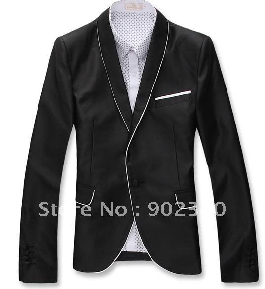 Wholesale-casual Slim Suit Men Korean Style Design Blazer Jacket