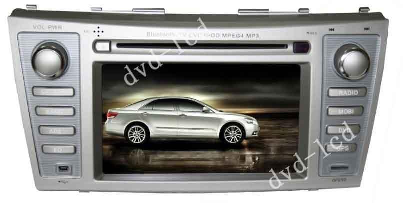 Toyota Camry radio car dvd player TV GPS Navigation system Bluetooth Win CE6.0 PIP Ipod HD LCD(China (Mainland))