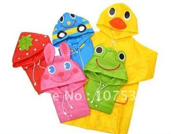Wholesae 20pcs/lot Linda Linda Funny Rain Coat,Kids Raincoat/Rainwear/Rainsuit,Kids Waterproof Garment