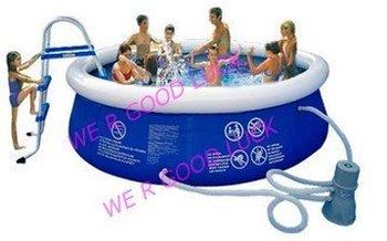 swimming pool SET GK-PL01 +1CE pump+Repair kit+Filter+ladder