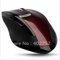 wholesale.brand new USB Wireless Mouse Rapoo 3200 2.4GHZ Optical Mouse,nano receiver