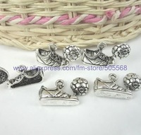 free shipping5  pcst/lot,wholesale  fashion charms,tibetan silver charms,jewelry findings jewelry accessories