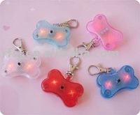 Pet LED Flashing Safty Warning Light, Dog ID Flashing Necklace, Pet LED flashing Tag